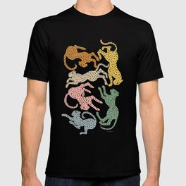Rainbow Cheetah T-shirt