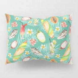 Hawaii. Watercolor Pillow Sham