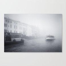 Venice: Fog Canvas Print