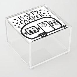 Home Is Where We Roam Rv Camper Road Trip Acrylic Box