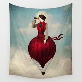 The Pleasure of Travelling Wall Tapestry