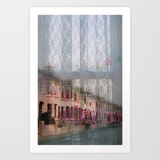Coventry Road - Sad Heart by Anna Chocola Art Print