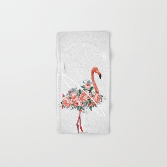 Flamingo Hand & Bath Towel