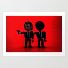 Toy Pulp Fiction Art Print