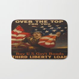 Vintage poster - Over the Top For You Bath Mat