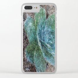 Green Beauty Clear iPhone Case