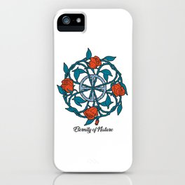 Old Celtic symbol sign for Eternity of love Women iPhone Case