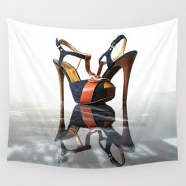 high heels universe Wall Tapestry