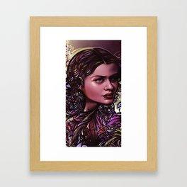 Wife of Jekyll & Hyde Framed Art Print