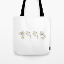 White Flower 1995 Tote Bag
