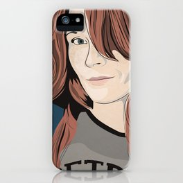 The target of my adoration iPhone Case