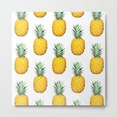 Big Pineapples Metal Print