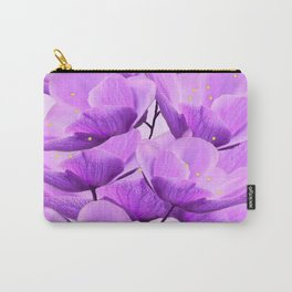 Violet Anemones Spring Atmosphere #decor #society6 #buyart Carry-All Pouch
