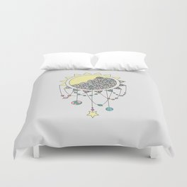 Cheer Up - Sun Illustration Duvet Cover