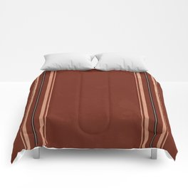 Brown Poncho Pattern Comforters