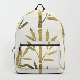 Bamboo Stems – Gold Palette Backpack