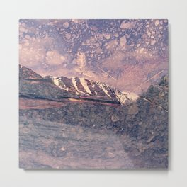 Alaska, Exposed: Mountain & Gravel Metal Print