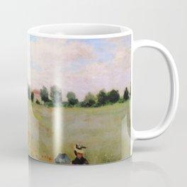 POPPIES - CLAUDE MONET Coffee Mug