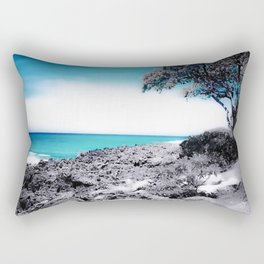 Hawaii Blues Rectangular Pillow