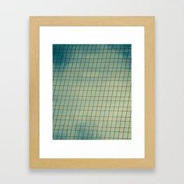 Skyward Mosaic Framed Art Print