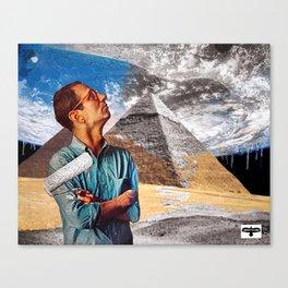 LANDSCAPE ARTIST Canvas Print