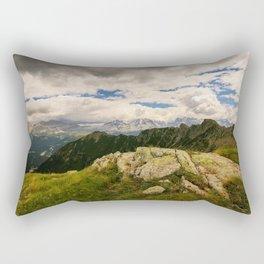 Giro dei cinque laghi Rectangular Pillow