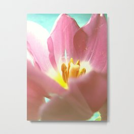 Inside the lovely Tulip Metal Print