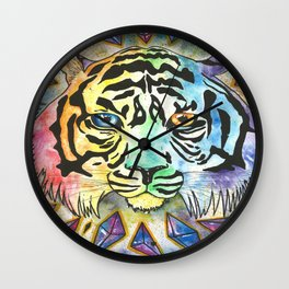 Cosmic Keeper Wall Clock