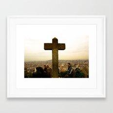 A top Barcelona Framed Art Print