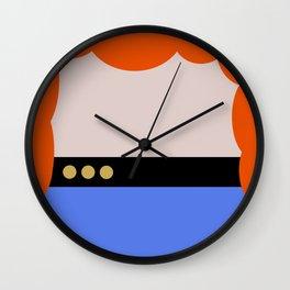 Dr. Beverly Crush er - Minimalist Star Trek TNG The Next Generation 1701 D  startrek - Trektangles Wall Clock