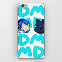 dmmd iPhone & iPod Skins featuring DMMD- chibi Aoba and Ren by prpldragon