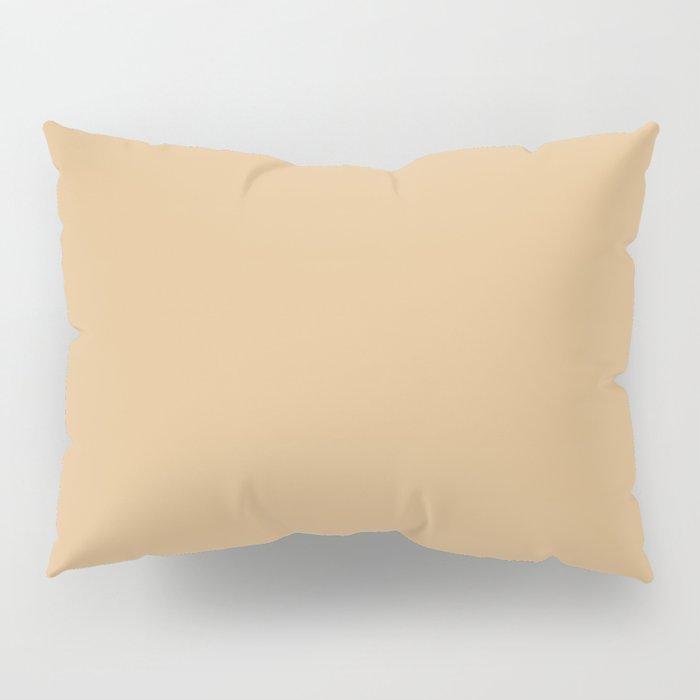 Solid Soft BurlyWood Color Pillow Sham