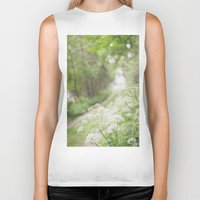 country Biker Tanks featuring Country Road by Pure Nature Photos
