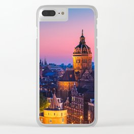 AMSTERDAM 04 Clear iPhone Case