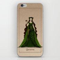 valar morghulis iPhone & iPod Skins featuring Yavanna by wolfanita