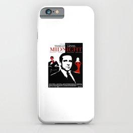 TheOffice - Threat Level Midnight Movie Poster iPhone Case