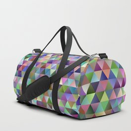 Happy triangle pattern Duffle Bag