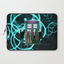The Doctors And Tardis Laptop Sleeve