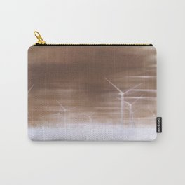 Ghostly wind turbines Carry-All Pouch