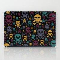 skulls iPad Cases featuring Skulls by Alice Gosling