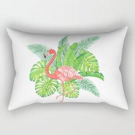 Flamingo Tropicale Rectangular Pillow