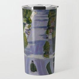 Rock Chalk Jay Hawk Travel Mug