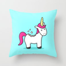 Unicorn Cookie Throw Pillow