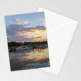 Sunset on Jones Creek Stationery Cards