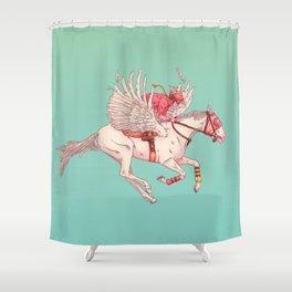 PEGASUS Shower Curtain