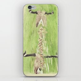 Goose Family Outing iPhone Skin