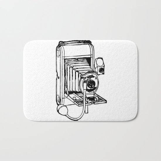 Camera. Bath Mat
