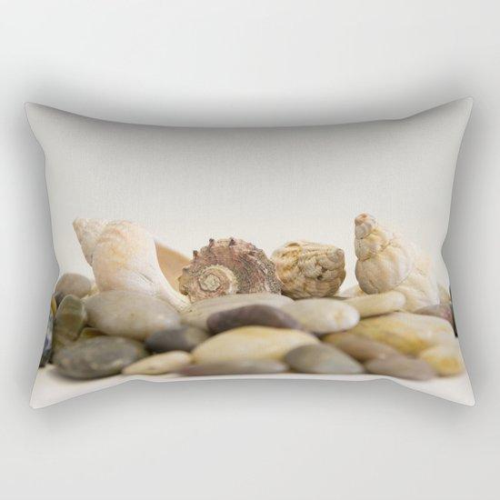 Seashells & Stones #1 #decor #art #society6 Rectangular Pillow