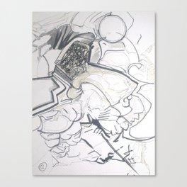 space barbarian Canvas Print