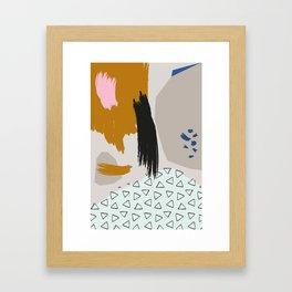 Dash Clash! Framed Art Print